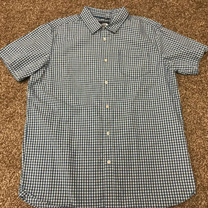 NWT Men's North Face Shadow Gingham Shirt Size L
